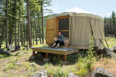 Feathered Pipe Ranch - Montana glamping