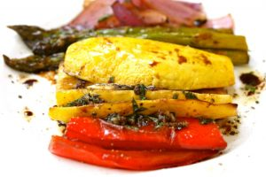 Feathered Pipe Kitchen - Balsamic Roasted Vegetables