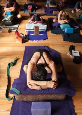 Iyengar Yoga - Restorative Asana