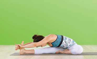 Iyengar Yoga - Janu Sirsasana