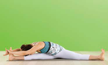 Iyengar Yoga - Parsva Upavistha Konasana