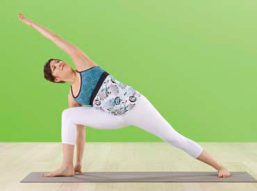 Iyengar Yoga - Utthita Parsvakonasana
