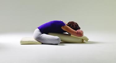 Iyengar Yoga - Adho Mukha Svastikasana