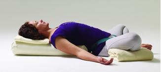 Iyengar Yoga - Supta Baddha Konasana