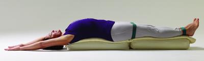 Iyengar Yoga - Viparita Dandasana