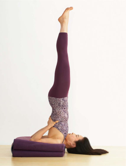 Salamba Sarvangasana: Supported Shoulderstand - Marla Apt