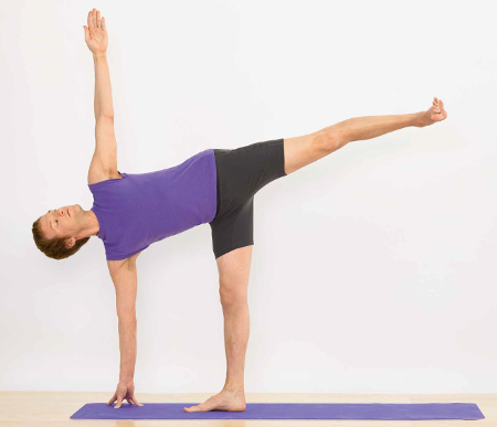 Ardha Chandrasana: Half Moon Pose - lower back pain