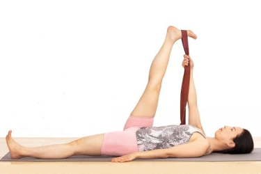 Supta Padangusthasana: Go-to Pose for Lower Back Pain - Pain Relief