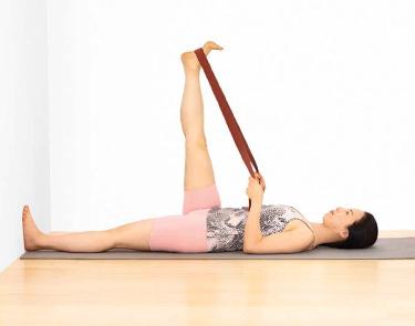 Supta Padangusthasana: Go-to Pose for Lower Back Pain - Iyengar Yoga