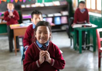 Tibet Child - Traditional Wisdom