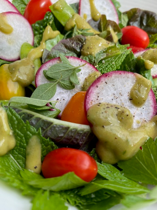 Laughing Water's Avocado Dressing and Some Leafy Green Lessons - Allison Radecki