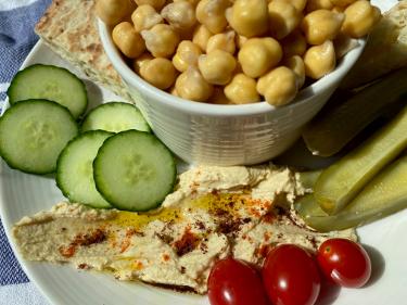 Hummus - Feathered Pipe Kitchen